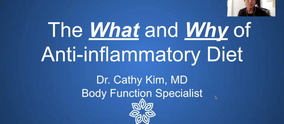Anti-Inflammatory Diet Lecture
